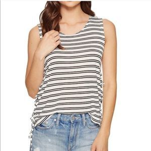 🍉NEW MACY'S JACK BY BB DAKOTA LOREN STRIPED TOP M